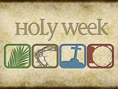 view the PowerPoint Template Holy  Week