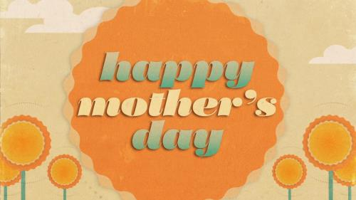 view the Motion Background Retro Mother's Day Title 02