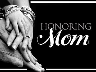 PowerPoint Template on Honoring  Mom