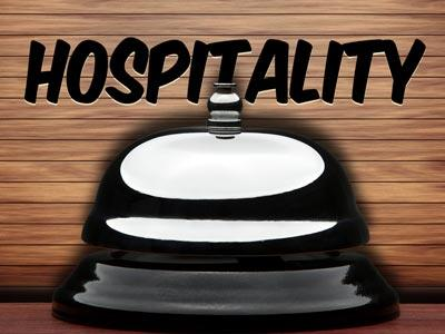 PowerPoint Template on Hospitality