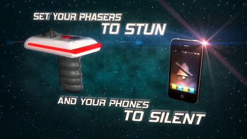 view the Motion Background Silence Your Phone (Sci-Fi)