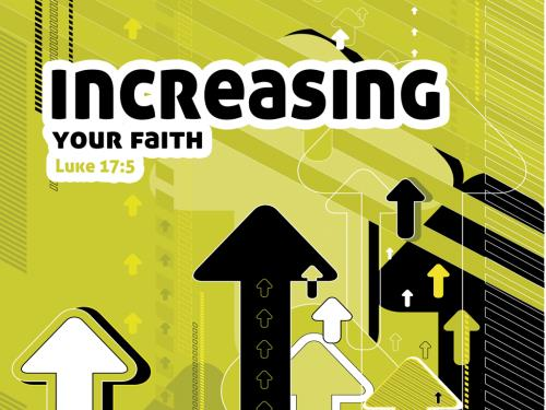 PowerPoint Template on Increasing  Your  Faith
