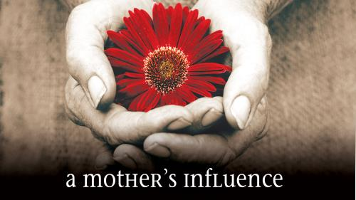 Influence of a  Mother PowerPoint Template 1