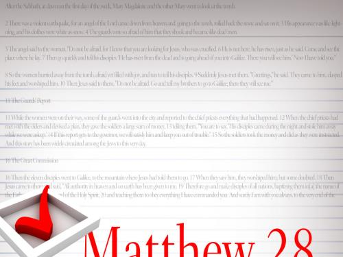 Jesus  Is  Alive PowerPoint Template 5