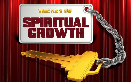church powerpoint template  key to spiritual growth