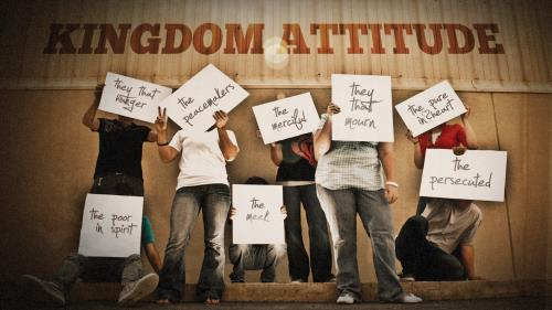Kingdom  Attitude PowerPoint Template 1
