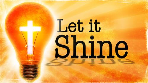 Let It Shine PowerPoint Template 1