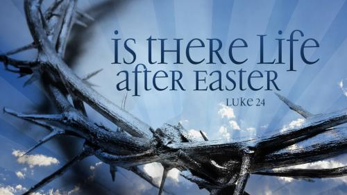 Life  After  Easter PowerPoint Template 1