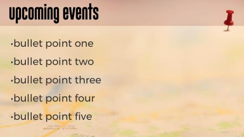 Push Pin PowerPoint Template 3