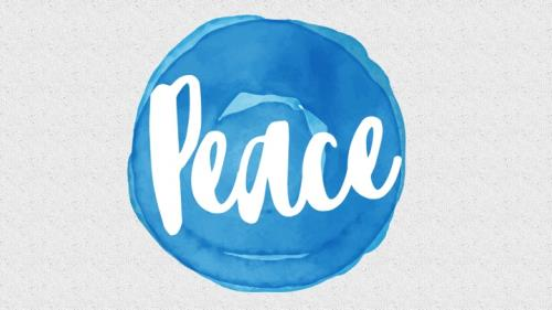 Mod Peace PowerPoint Template 1