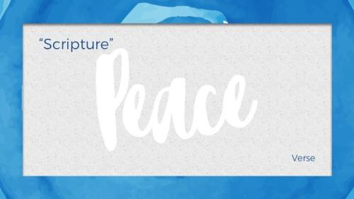 Mod Peace PowerPoint Template 8