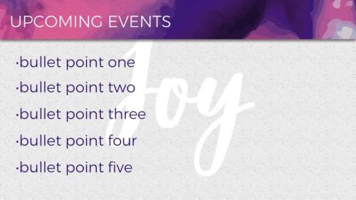 Mod Joy PowerPoint Template 4