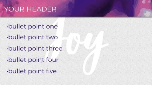 Mod Joy PowerPoint Template 6