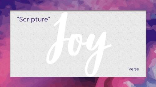 Mod Joy PowerPoint Template 8