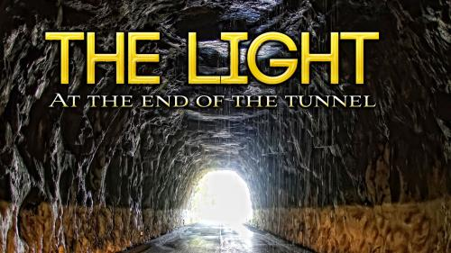 Light at the End of the Tunnel Preaching Slide