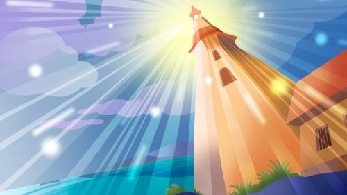 Lighthouse 2 PowerPoint Template 3