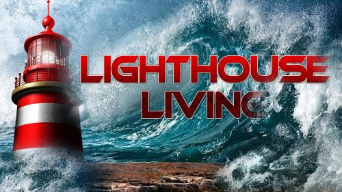 Lighthouse  Living PowerPoint Template 1