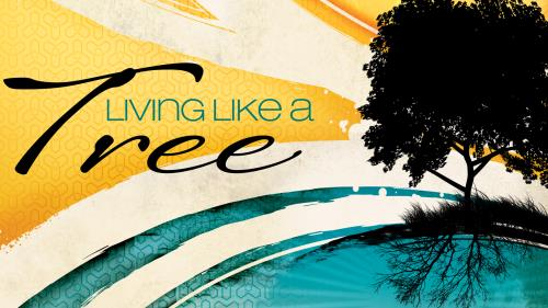 Living  Like a  Tree PowerPoint Template 1
