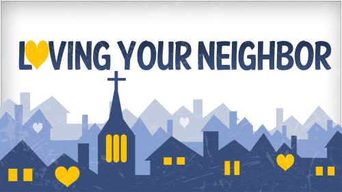 Loving  Your  Neighbor PowerPoint Template