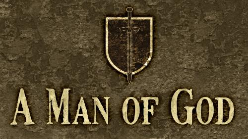 Man of  God PowerPoint Template 1