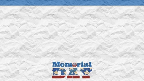 church powerpoint template  memorial day