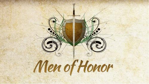 Men of  Honor PowerPoint Template 1