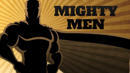 Mighty  Men PowerPoint Template 1