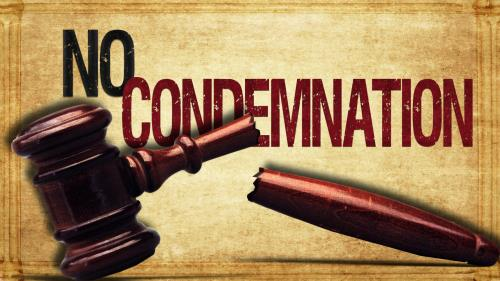 No  Condemnation PowerPoint Template 1