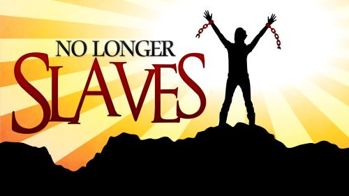 No  Longer  Slaves PowerPoint Template 1