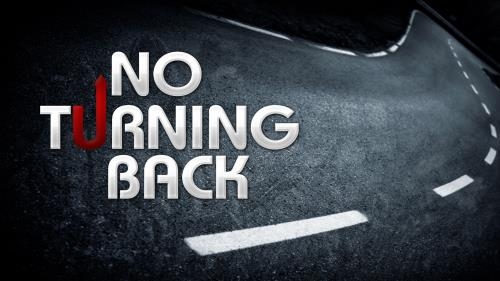 No  Turning  Back PowerPoint Template 1