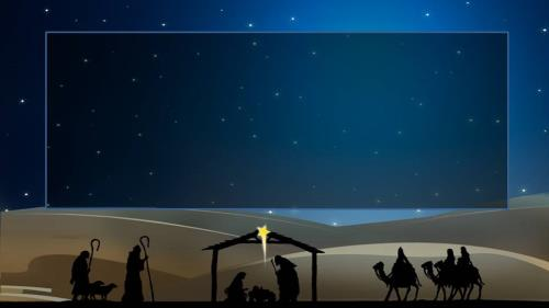 O  Come  All  Ye  Faithful PowerPoint Template 3