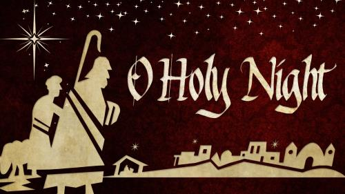 O Holy Night PowerPoint Template 1