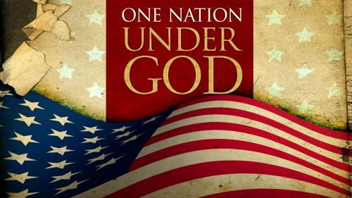 One Nation Under God Preaching Slide