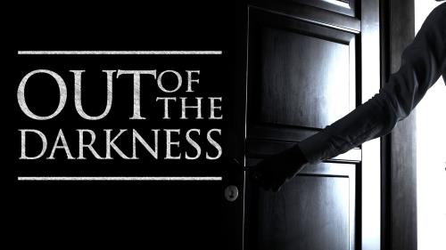Out of the Darkness PowerPoint Template 1