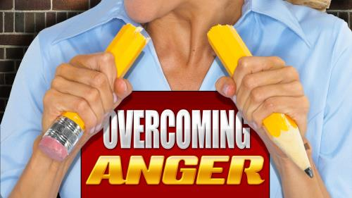 Overcoming Anger PowerPoint Template 1