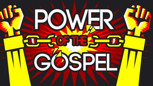 Power of the  Gospel PowerPoint Template 1