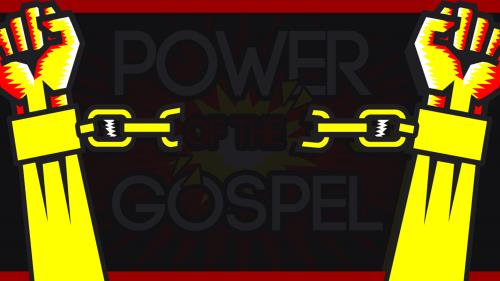 Power of the  Gospel PowerPoint Template 5