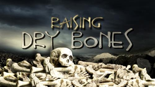Raising Dry Bones PowerPoint Template 1