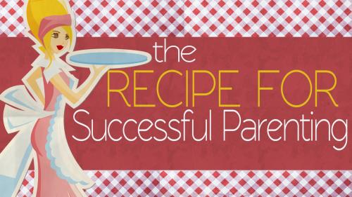 Recipe for Successful Parenting PowerPoint Template 1