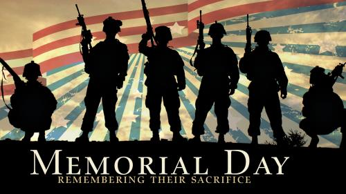 Remembering Their Sacrifice PowerPoint Template 1