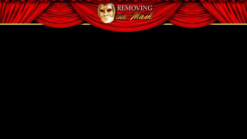 Removing the  Mask PowerPoint Template 5
