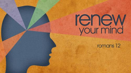 Renew Your Mind PowerPoint Template 1