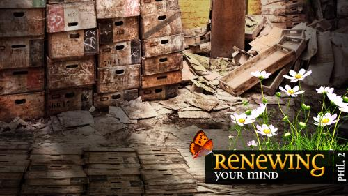 Renewing Your Mind PowerPoint Template 3
