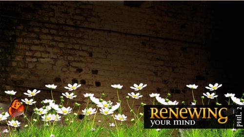 Renewing Your Mind PowerPoint Template 5