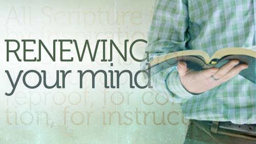 Renewing Your Mind Bible PowerPoint Template