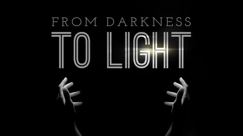 Darkness to Light PowerPoint Template 1