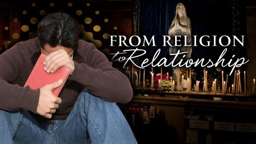 Religion to Relationship PowerPoint Template 1