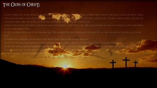 The Cross of Christ PowerPoint Template 2
