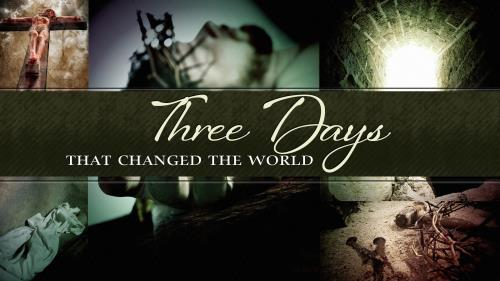 Three Days That Changed The World PowerPoint Template 1