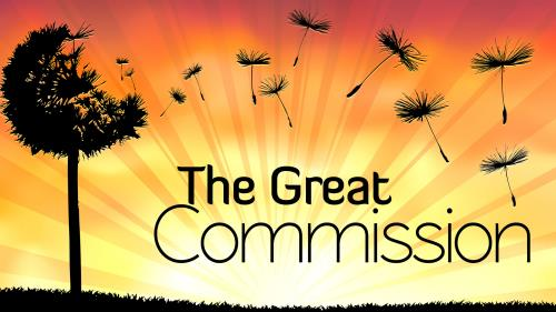 The Great Commission PowerPoint Template 1